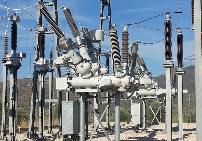 Transformadores de la subestación eléctrica