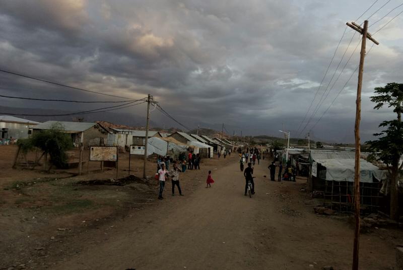 Campo de refugiados de Shire, en Etiopía.