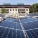Red de instalaciones fotovoltaicas sobre las cubiertas de la Universidad de Stanford