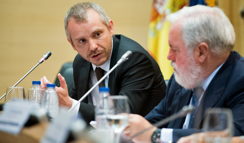 Daniel Navía, Secretario de Estado de Energia