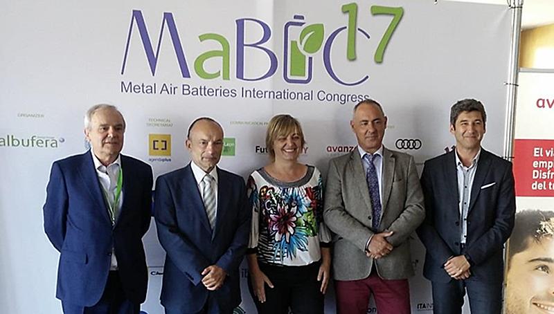 Clausura del Congreso MaBIC17 sobre baterías Metal-aire, una tecnología que está experimentando un impulso en el sector.