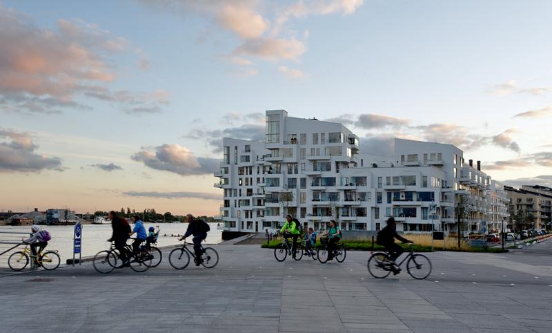 Movilidad sostenible en bicicletas en Copenhague