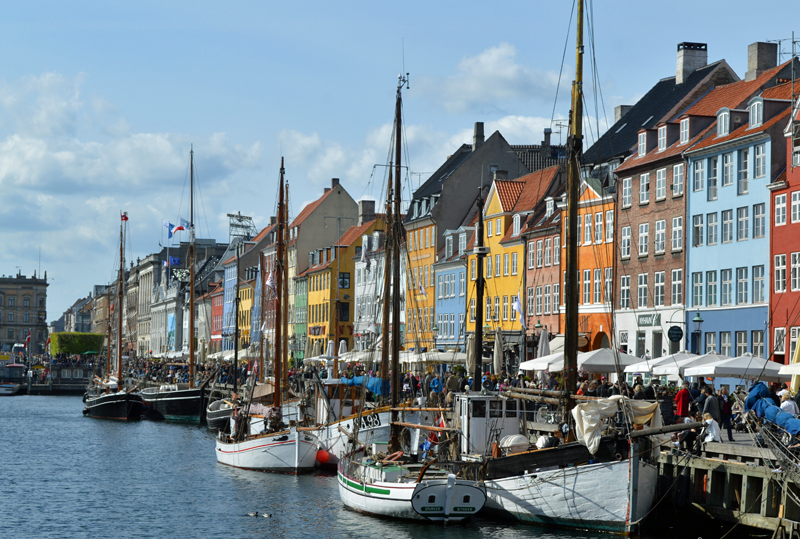Distrito de Nyhavn, Copenhague