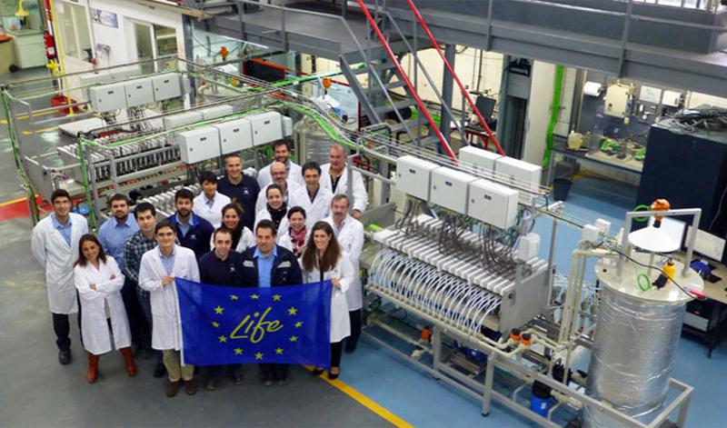 Participantes proyecto europeo LIFE ZAESS