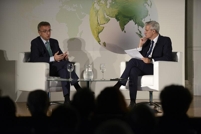 Acto de presentación del informe mundial sobre mercados energéticos elaborado por BP.