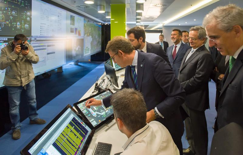 Inauguración del Centro de Control de Hidráulicas