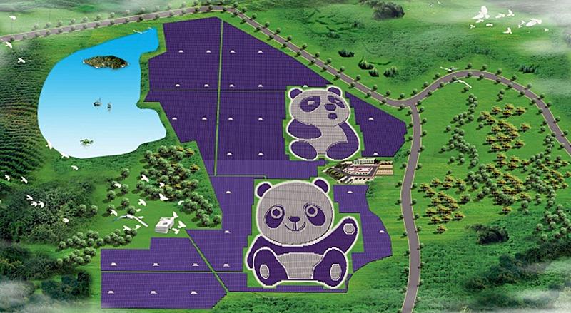 Parque fotovoltaico de Panda Green Energy