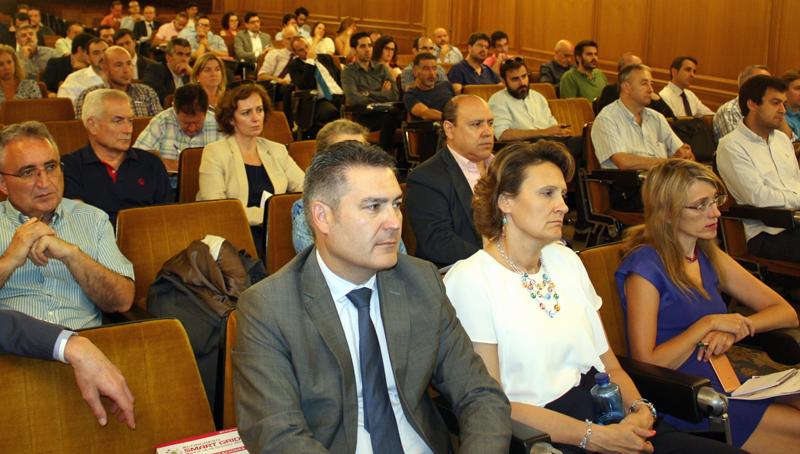 Público asistente a la Jornada de Lanzamiento del IV Congreso Smart Grids
