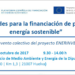 Encuentro sobre oportunidades de financiación de proyectos de Energía Sostenible en Huelva