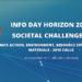 Nuevo Information Day Horizonte 2020 de la Comisión Europea