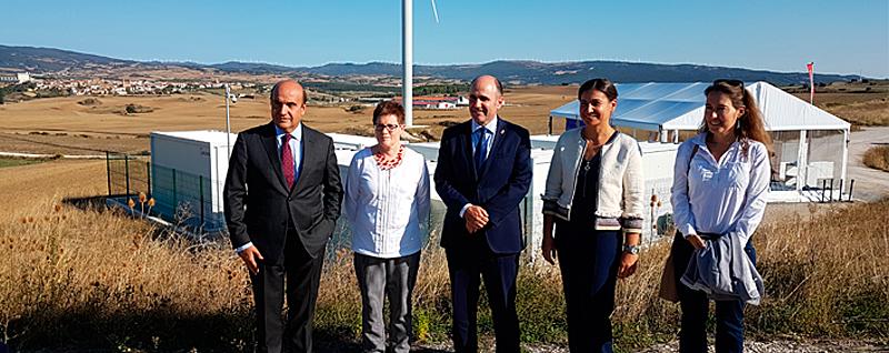 El acto estuvo presidido por el Vicepresidente de Desarrollo Económico del Gobierno de Navarra, Manu Ayerdi.