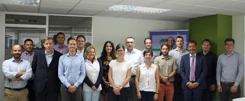 Integrantes del proyecto europeo iDiistributedPV