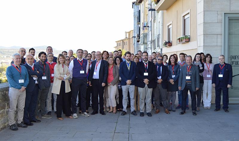 Los socios de nueve países que conforman el proyecto europeo Startdust, elegido en la convocatoria Ciudades y Comunidades Inteligentes, se reunieron en Pamplona.