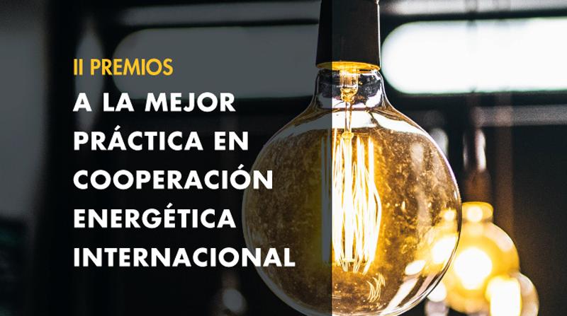 Las entidades interesadas en participar en los II Premios a la Cooperación Energética Internacional pueden enviar su candidatura en formato online hasta el próximo 16 de octubre.