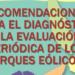 Presentan una Guía para el Diagnóstico y Evaluación Periódica de los Parques Eólicos