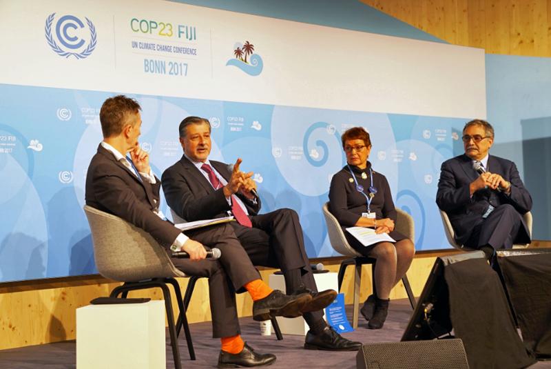 Conferencia de Cambio Climático celebrada en Bonn