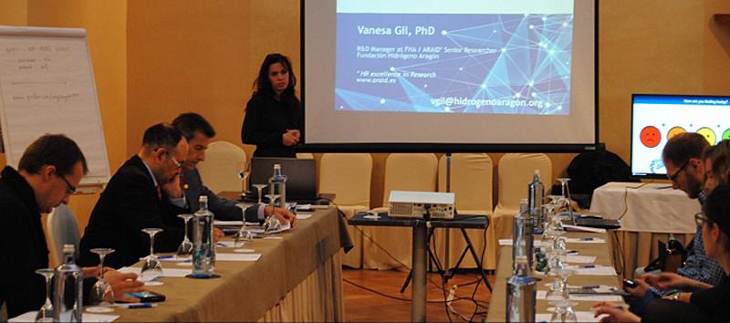 La capital aragonesa ha acogido un encuentro de expertos internacionales que han compartido experiencias en el marco de esta iniciativa que financia la Unión Europea a través de la Fuel Cells and Hydrogen Joint Undertaking.