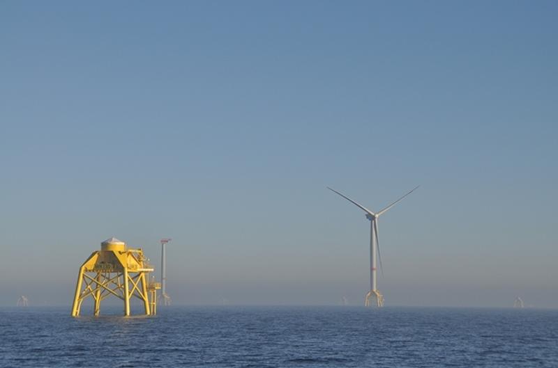 Parque eólico marino Wikinger