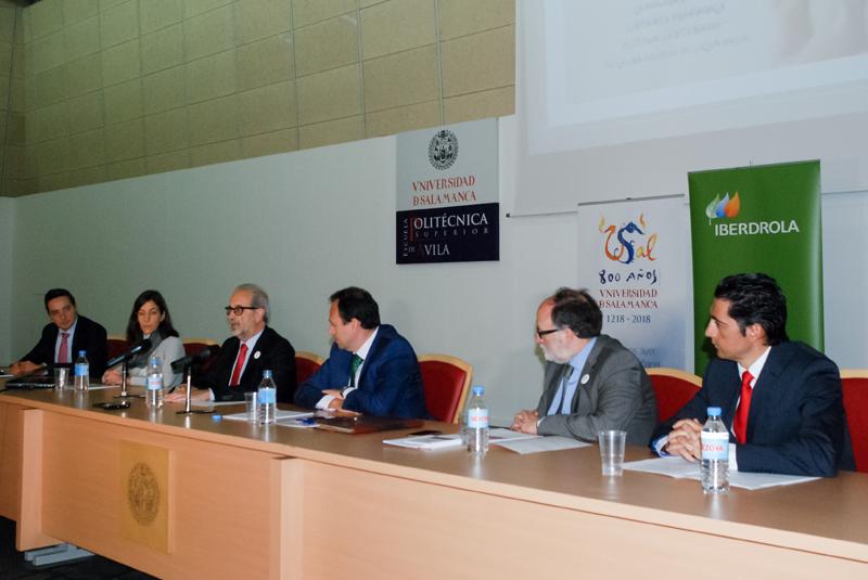 Presentación de la Cátedra Iberdrola Octavo Centenario.