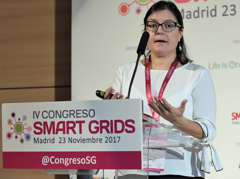 María Pérez, Jefa de Proyectos I+D Gfi NV.