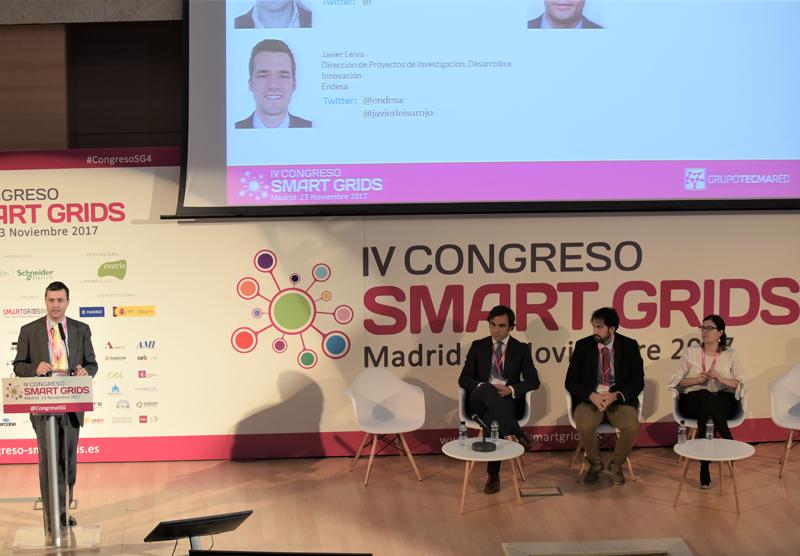Fernando García, Miembro del Grupo Gestor FutuRed, moderó el Segundo Bloque de Ponencias del IV Congreso Smart Grids.