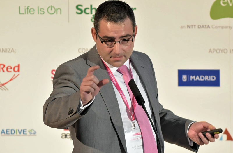 Javier Sánchez, Sales Manager GRID Iberia & LATAM de Saft.