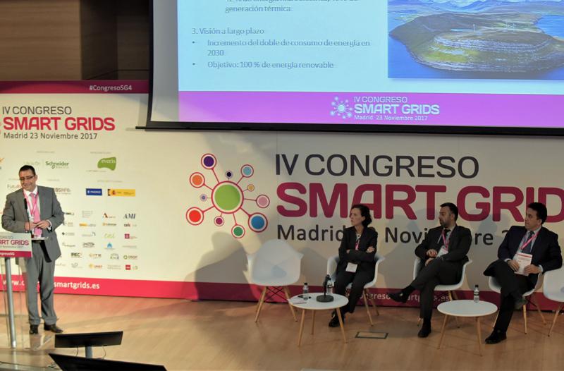 Miguel Ángel García, Director-Gerente de Fenitel, fue el moderador del Cuarto Bloque de Ponencias del IV Congreso Smart Grids.