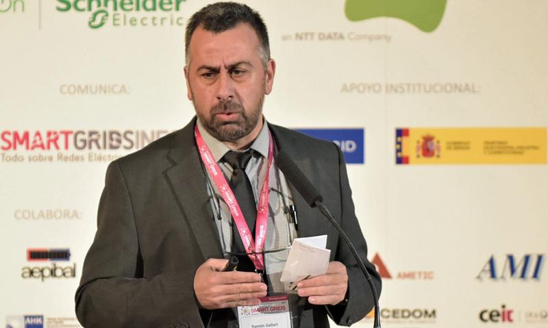 Ramón Gallart, Responsable de Redes Inteligentes y R+D+i de Estabanell Energía.