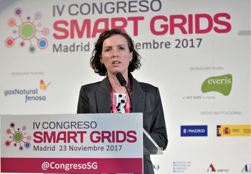Susana Apiñániz, Responsable Electrónica de Potencia de la División de Energía y Medioambiente de Tecnalia.