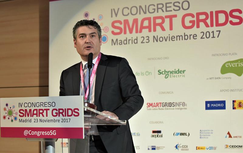 Francisco Barceló, miembro del Grupo Rector de FutuRed, participó en la clausura del IV Congreso Smart Grids.