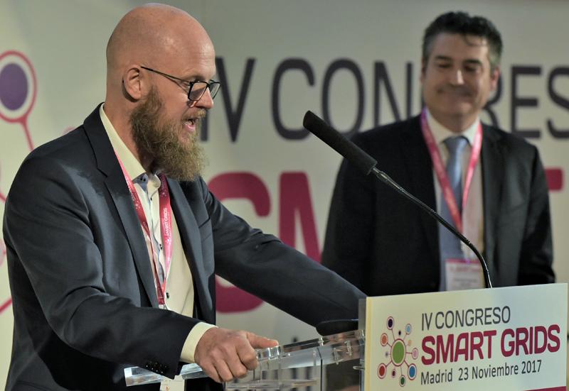 El Director del Congreso Smart Grids, Stefan Junestrand, clausura el IV Congreso Smart Grids.