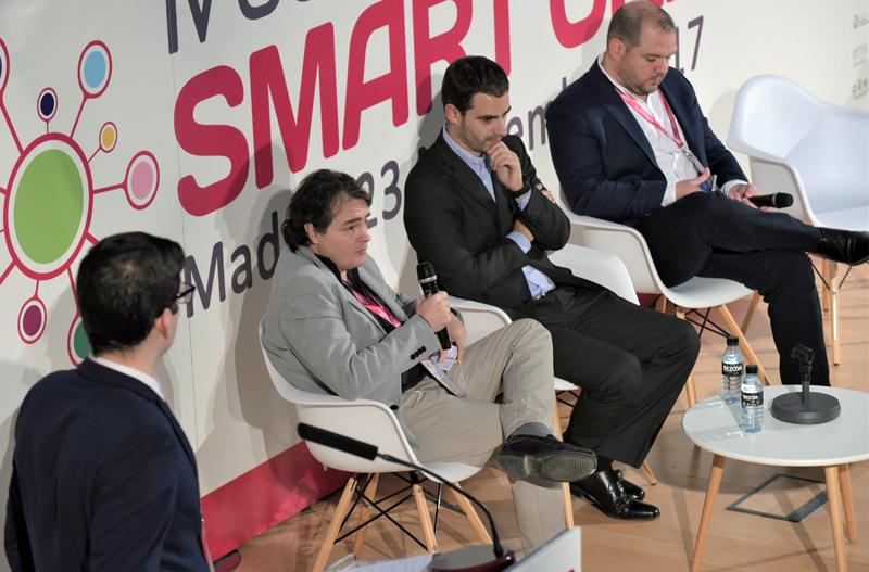 Rubén Ramón, Security Consultant en CyberSecurity MInsait, durante su intervención.