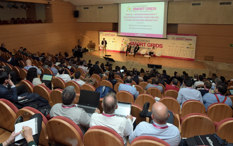 Auditorio del IV Congreso Smart Grids.