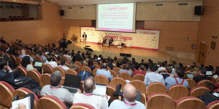 Auditorio del IV Congreso Smart Grids