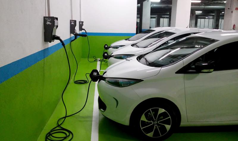 Los 50 puntos de carga del servicio de carsharing ZITY, que se incorpora a final de año a las calles de Madrid, serán telegestionados y proporcionarán energía renovable.