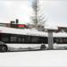 Davos prueba un autobús eléctrico que recarga su batería en las paradas durante 20 segundos