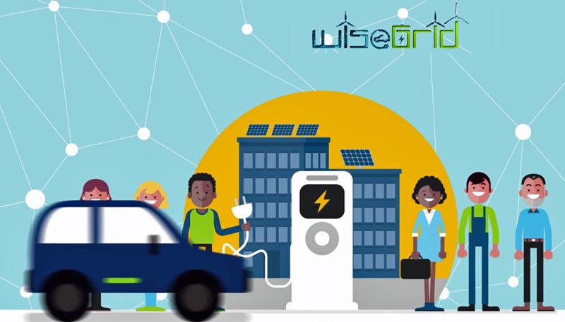 Figura 2. Integración del vehículo eléctrico en la red.
