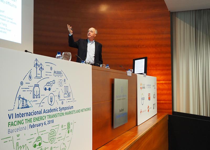 Simposio Académico Transición Energética en Barcelona.