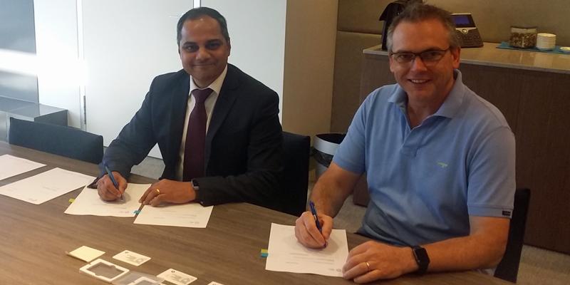 Firma del contrato entre la compañía finlandesaWärtsilä y AGL Energy Limited para desarrollar una planta inteligente de generación eléctrica de 211 MW en Australia.