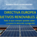 Directiva Europea – Objetivos Renovables 2030