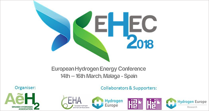 Los retos y oportunidades del hidrógeno en la energía y el uso de pila de combustible, se tratarán en el Congreso Europeo de Energía del Hidrógeno que se celebra en Málaga del 14 al 16 de marzo.