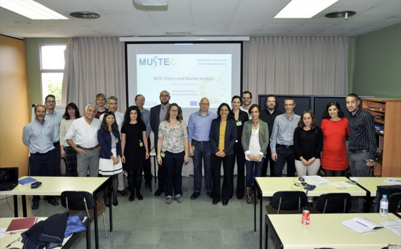 Equipo del proyecto Mustec