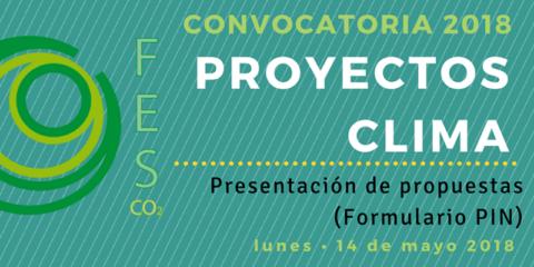 Abre la 7ª convocatoria de Proyectos Clima a presentación de proyectos hasta el 14 de mayo