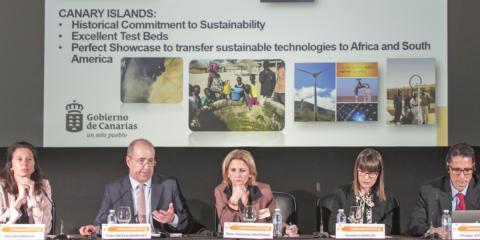 El Gobierno de Canarias presenta a Europa su evolución en materia de energías renovables