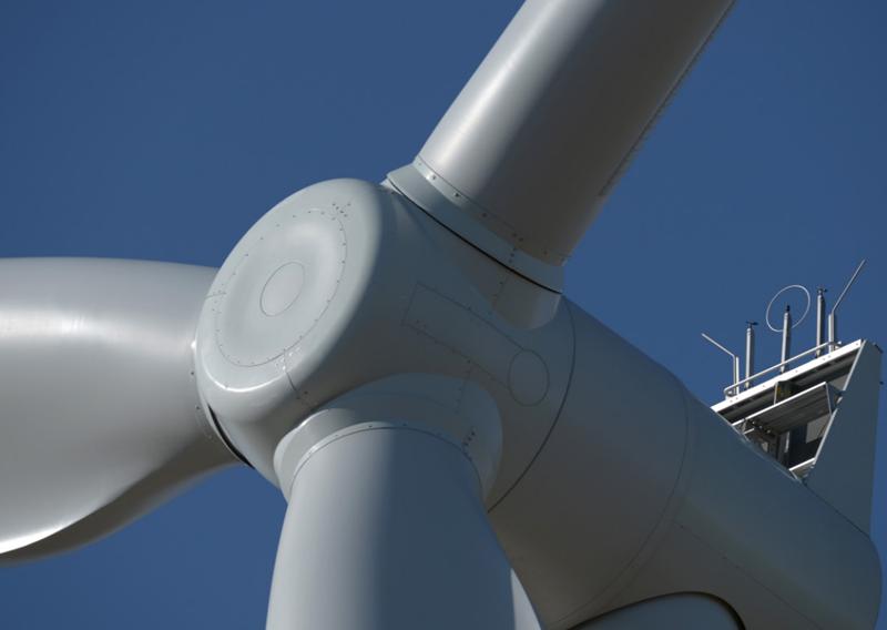 Aerogenerador de energía eólica