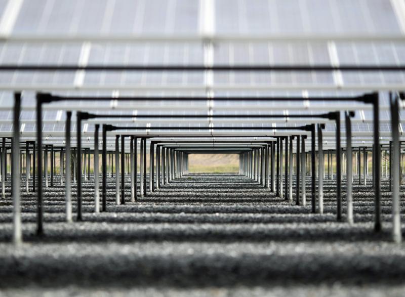 Capacidad instalada de energía solar