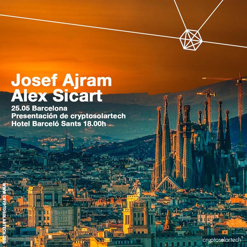 Cartel presentación CryptoSolarTech