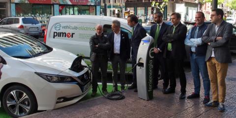 La recarga semirrápida de coches eléctricos llega al centro de Logroño
