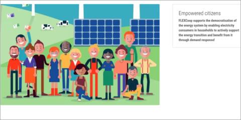 El proyecto europeo Flexcoop promueve la gestión activa de la demanda entre prosumidores domésticos