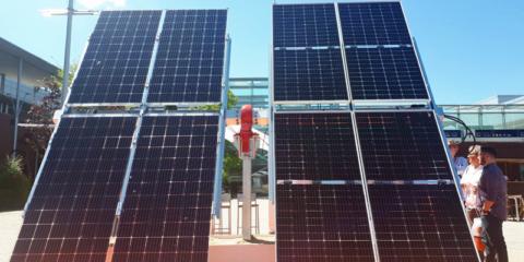 Seguidores solares bifaciales, entre las novedades de Genera 2018